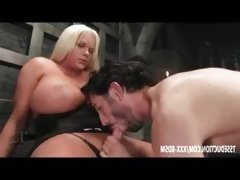 Fat tranny in lingerie Holly Sweet gets sucking