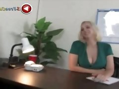 Hot Busty Babe Fucks Hard --
