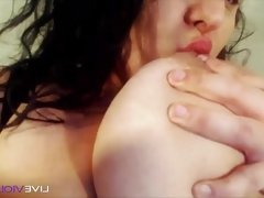 Hot candy BBW with big bouncing boobs and phat vagina