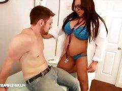 Sexy Big Tit Plumper Kendra Lee Ryan Plays Doctor