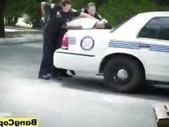 BBW cock hungry police women hot rimjob service on their...
