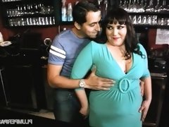 Plump Bartender Fucks Stud Waiter in Nightclub