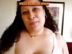Insane Big tits in very tight Big Bra