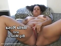 Light skinned bbw stuffed by a big black cock