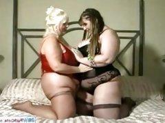 BBW American Lesbians