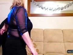 AgedLovE Mature Chubby Trisha and Sam Hardcore