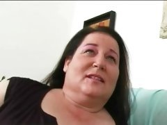 Sex with plump on cam