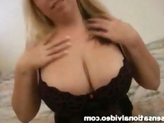 Curvy Amateur Fucks Dirty Old Man in Her First Scene